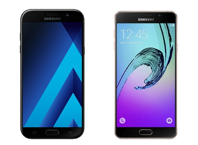 Samsung Galaxy A7 (2017) vs Samsung Galaxy A7 (2016)