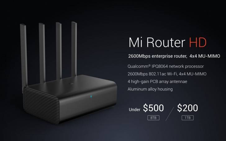 Xiaomi announces Mi Router HD at CES for China