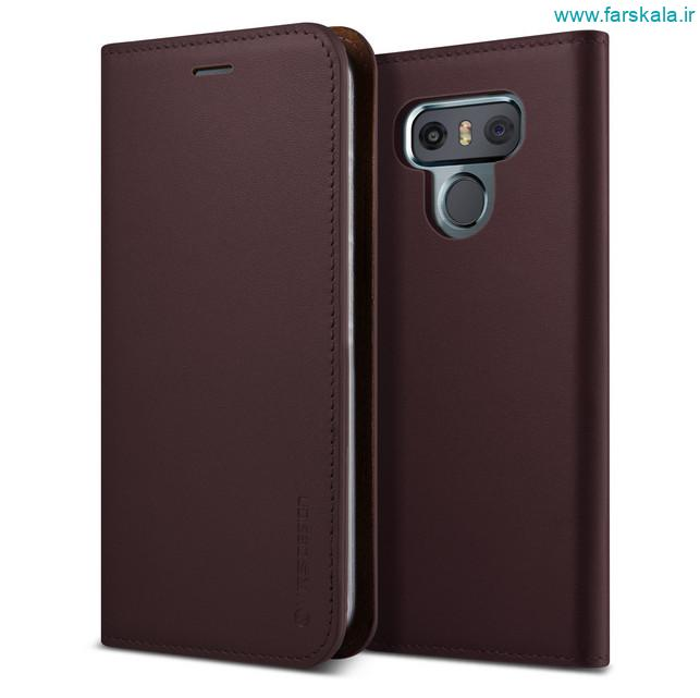 قاب محافظ VRS Design Genuine Leather Diary for LG G6 ( قیمت 69 دلار )