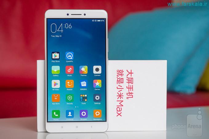 مشصخات کامل گوشی شیائومی Xiaomi Mi Max 2