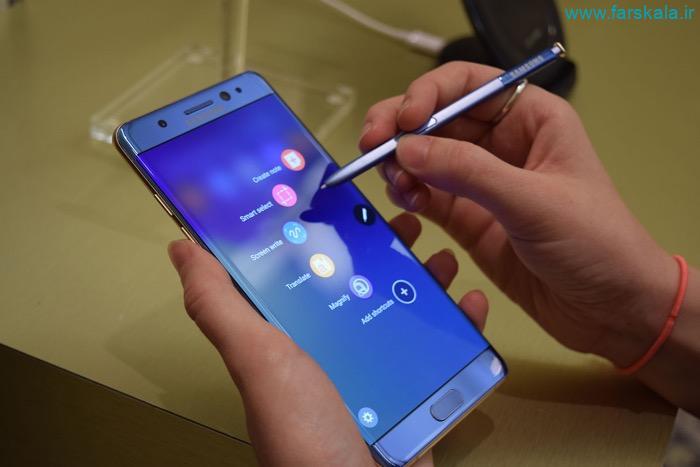 مشخصات گوشی Samsung Galaxy Note FE