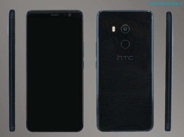 مشخصات فنی گوشی HTC U11 Plus