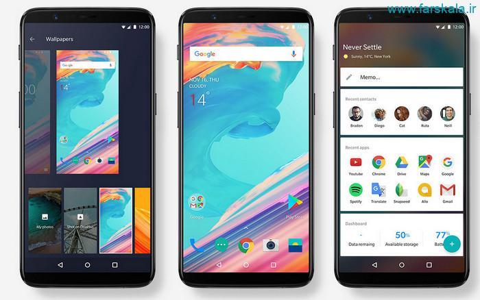 قیمت و مشخصات فنی گوشی OnePlus 5T