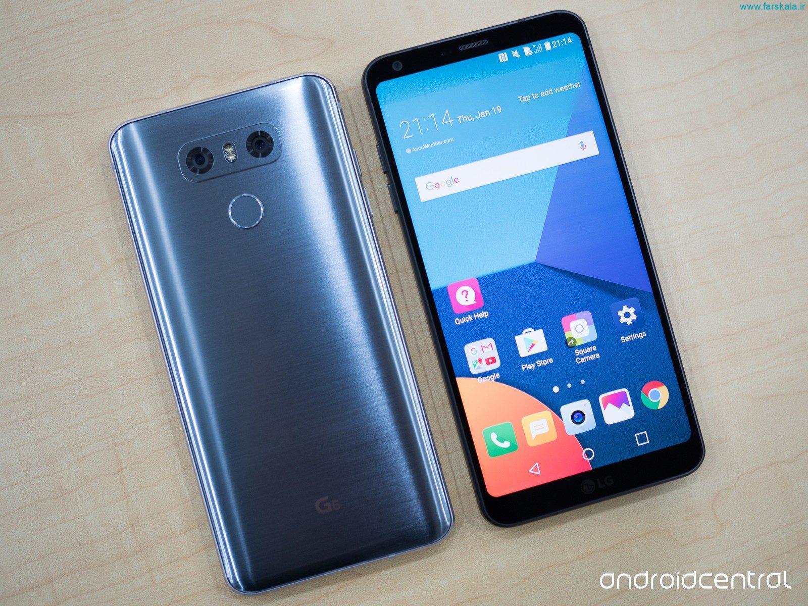 قیمت و مشخصات فنی گوشی LG V35 ThinQ