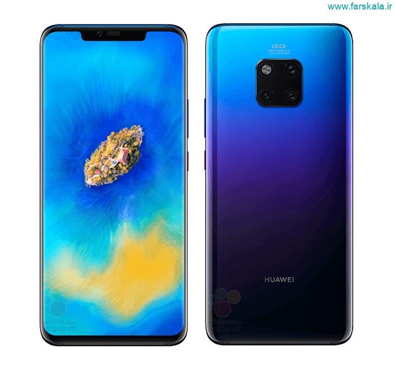 قیمت و مشخصات فنی گوشی Huawei Mate 20 Pro
