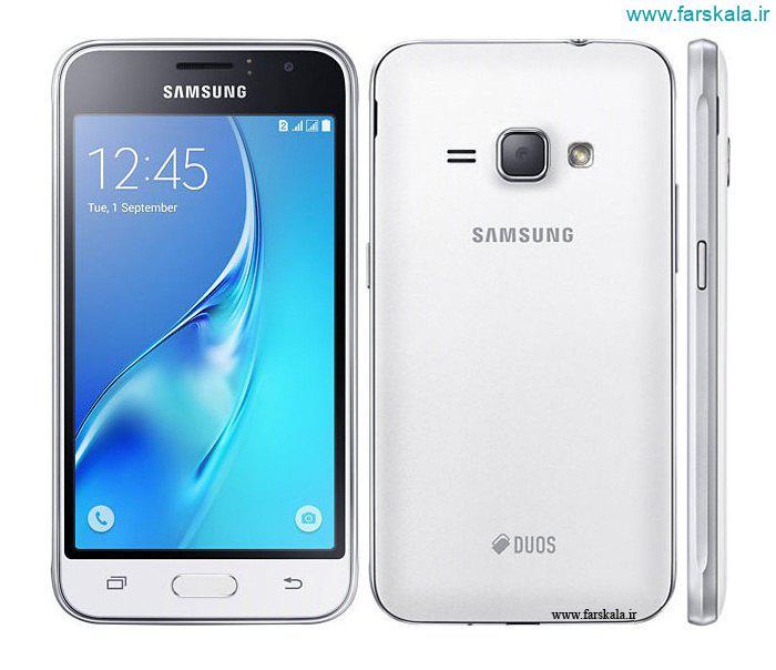 قیمت و مشخصات گوشی samsung galaxy j1 (2016)