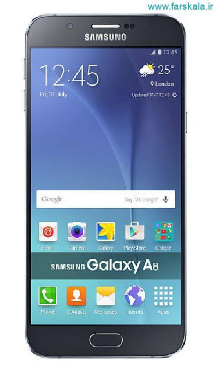 قیمت و مشخصات فنی گوشی samsung galaxy A8