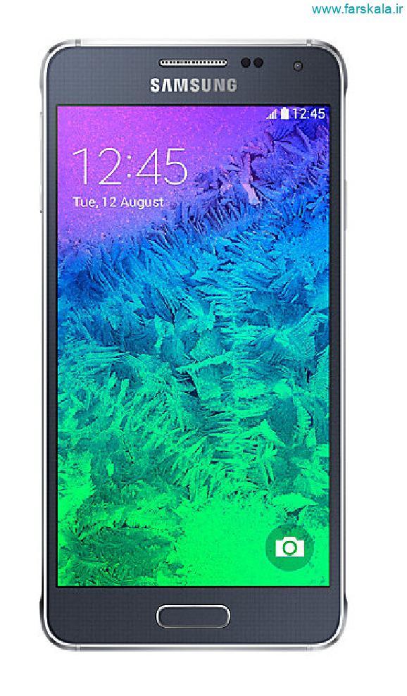 بررسی قیمت و مشخصات فنی گوشی Samsung Galaxy Alpha