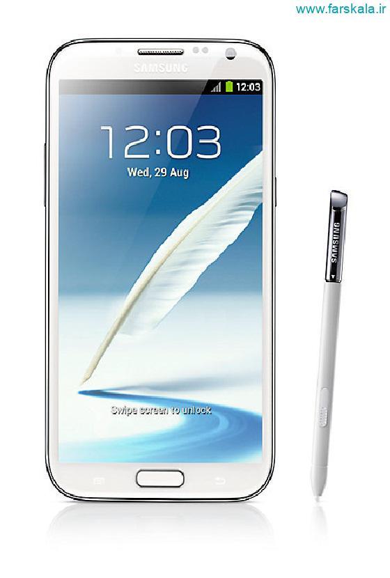 قیمت و مشخصات گوشی Samsung Galaxy Note 2