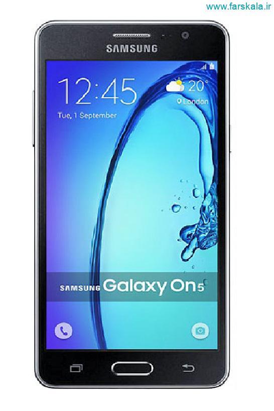 قیمت و مشخصات فنی گوشی Samsung Galaxy On5