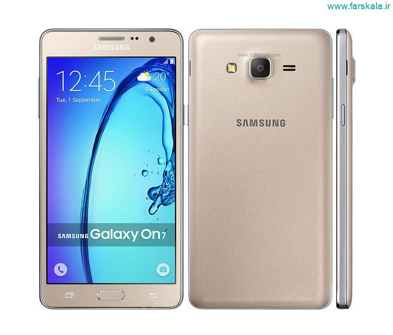 قیمت و مشخصات فنی کامل گوشی Samsung Galaxy On7 و خرید لوازم جانبی
