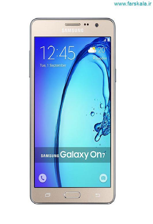 قیمت و مشخصات فنی کامل گوشی Samsung Galaxy On7 Pro