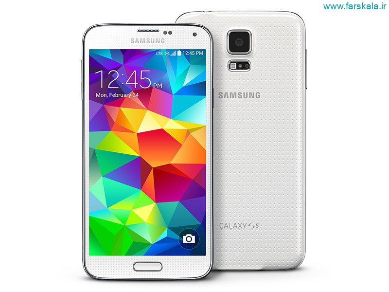 قیمت و مشخصات فنی گوشی Samsung Galaxy S5