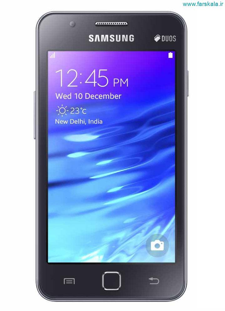 قیمت و مشخصات فنی کامل گوشی Samsung Z1