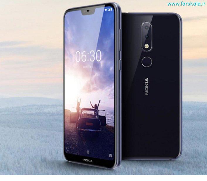 قیمت و مشخصات فنی گوشی Nokia 6.1 Plus (Nokia X6)