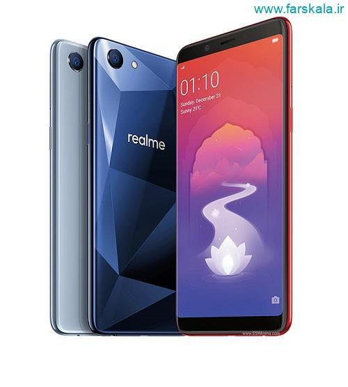 قیمت و مشخصات فنی گوشی اوپو رلمی Oppo Realme 1
