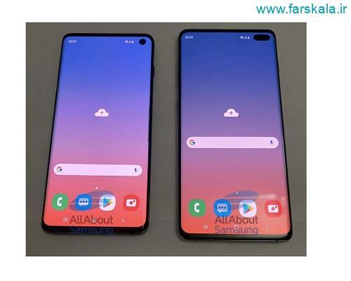 مشخصات فنی و قیمت گوشی سامسونگ Samsung Galaxy S10