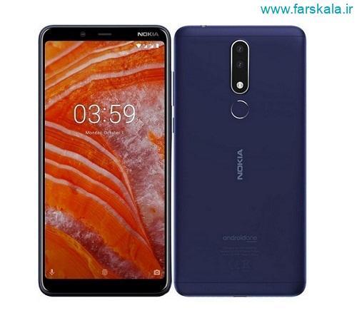 معرفی گوشی موبایل نوکیا پلاس Nokia 3.1 Plus