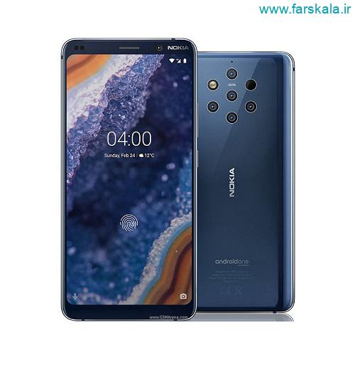 مشخصات فنی گوشی پرچمدار نوکیا Nokia 9 PureView