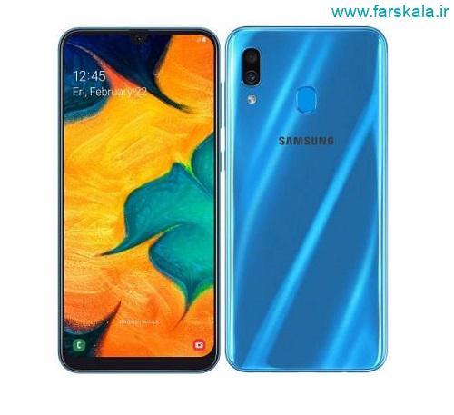 مشخصات فنی گوشی سامسونگ Samsung Galaxy A30