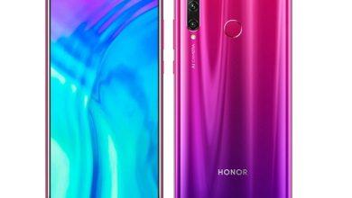 قیمت و مشخصات فنی گوشی موبایل Honor 20i