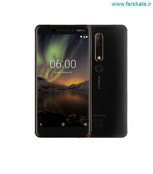 مشخصات فنی و قیمت گوشی موبایل نوکیا Nokia 6.1