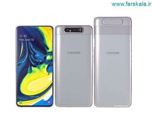 گوشی Samsung Galaxy A80 با دوربین سلفی چرخشی رونمایی شده