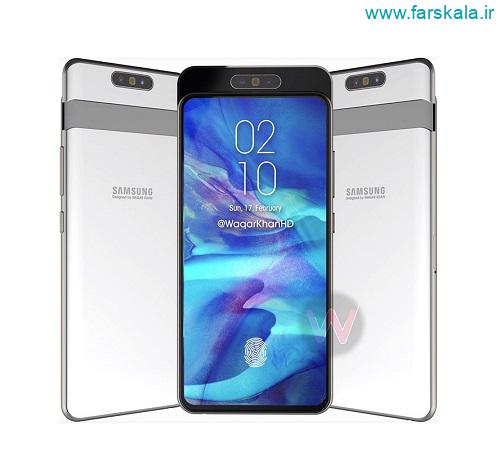 گوشی Samsung Galaxy A90 با دوربین های کشویی رونمایی شده
