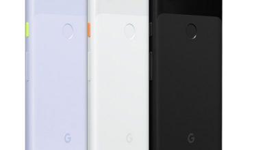 مشخصات فنی گوشی موبایل گوگل پیکسل Google Pixel 3a
