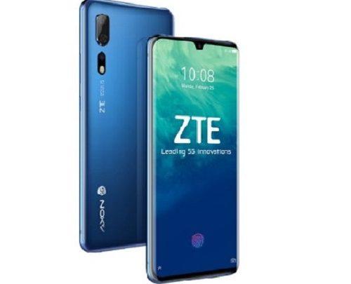 مشخصات فنی گوشی هوشمند زد تی ای ZTE Axon 10 Pro