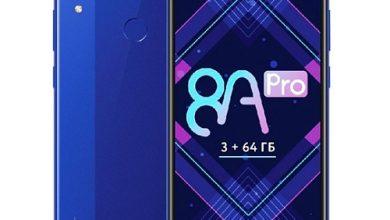 قیمت و مشخصات فنی گوشی آنر 8 ای - Honor 8A Pro