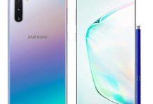 مشخصات فنی و قیمت گوشی سامسونگ Samsung Galaxy Note10 5G