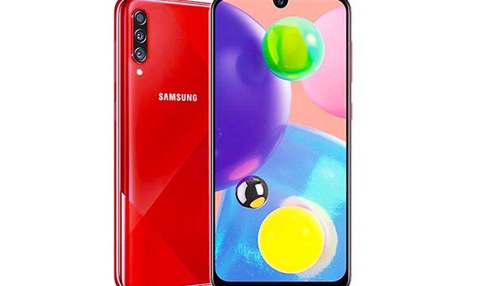 مشخصات فنی گوشی گلکسی ای 70 اس - Samsung Galaxy A70s