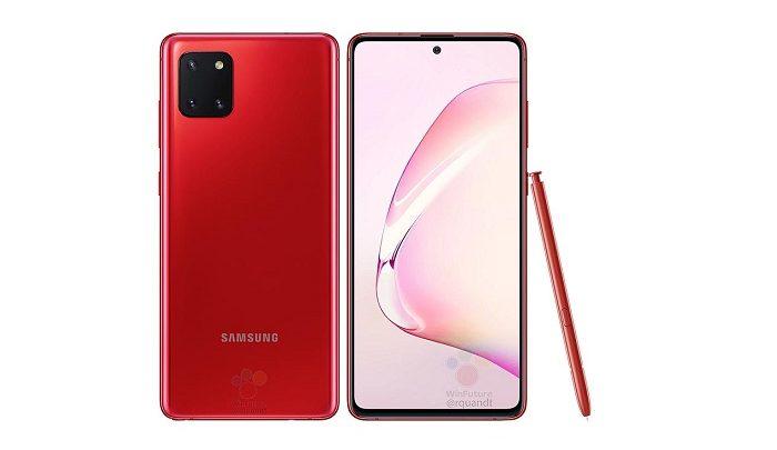 مشخصات فنی گوشی گلکسی نوت 10 لایت - Samsung Galaxy Note10 Lite